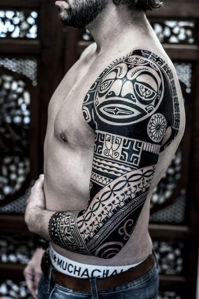 tattoo, tattoos, ink, pacifictattoo, pacific, thierryrossen, maori, polynesian, marquesan, haida, traditional, tribal, tattoonederland, blacktattoos, tattooing, tattooartist, Nederland, maoritattoo, polynesiantattoo, marquesantattoo, haidatattoo, borneo